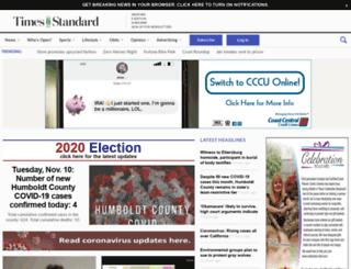 m.times-standard.com screenshot