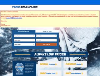 m.tirecrawler.com screenshot
