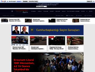 m.turkiyehaberajansi.com screenshot