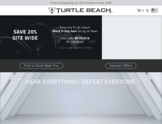 m.turtlebeach.com screenshot