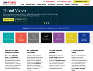 m.ukfast.co.uk screenshot