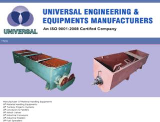 m.universal-engineering.net screenshot