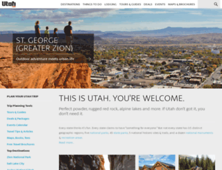 m.utah.com screenshot