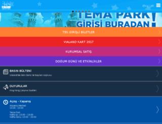 m.vialand.com screenshot