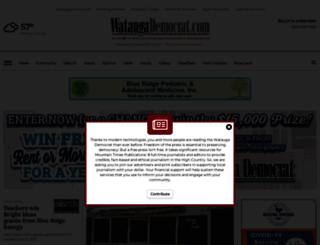 m.wataugademocrat.com screenshot