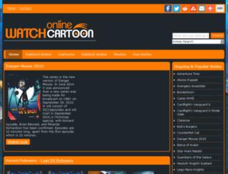 m.watchcartoononline.com screenshot