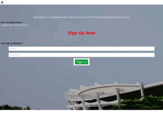 m.webnigerians.com screenshot