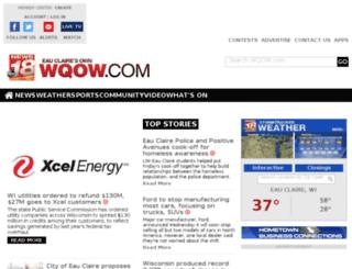 m.wqow.com screenshot