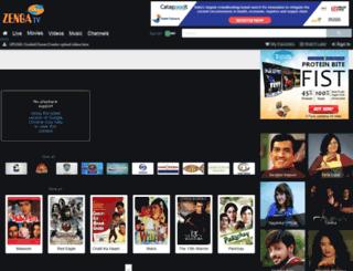m.zengatv.com screenshot