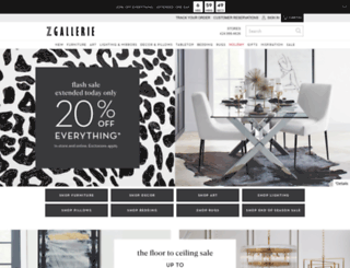 m.zgallerie.com screenshot