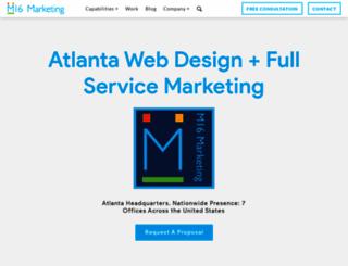 m16marketing.com screenshot