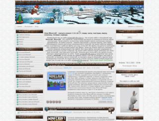 m1necraft-info.ucoz.ru screenshot