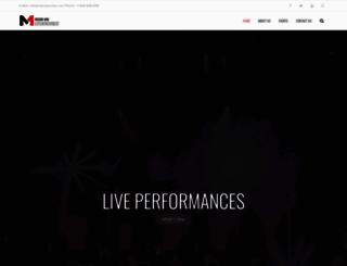 m1production.com screenshot