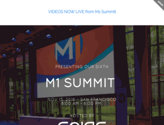 m1summit.com screenshot