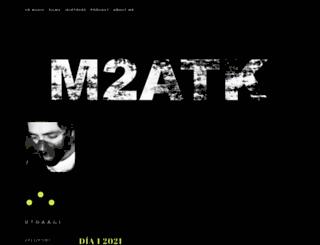m2atk.wordpress.com screenshot