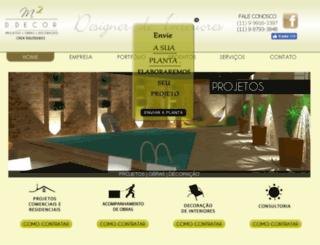 m2ddecor.com.br screenshot