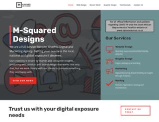 m2designs.co.za screenshot