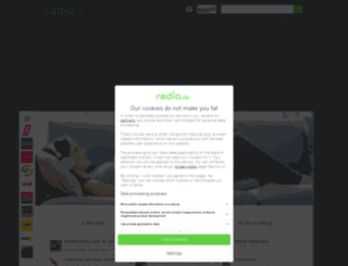 m2funk.radio.de screenshot