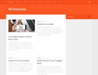 m2indonesia.com screenshot