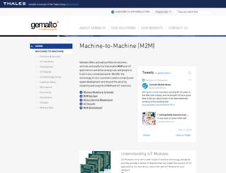 m2m.gemalto.com screenshot