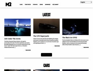 m2magazine.co.nz screenshot