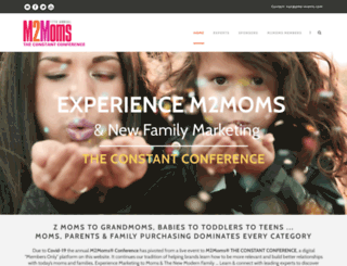 m2moms.com screenshot
