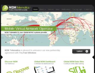 m2mtelematics.com screenshot