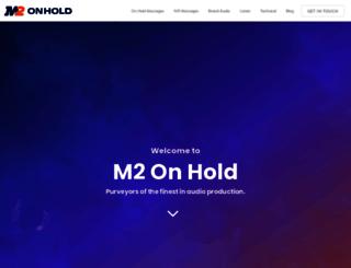 m2onhold.com.au screenshot