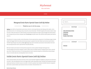 m3chennai.com screenshot