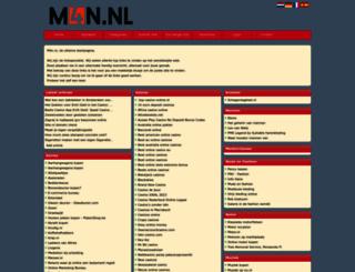 m4n.nl screenshot