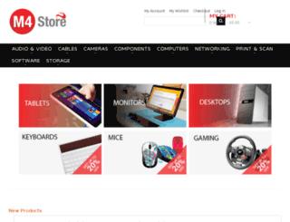m4store.co.uk screenshot