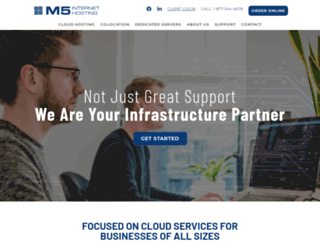 m5cloud.com screenshot