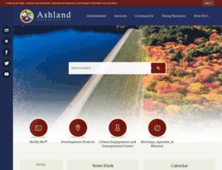 ma-ashland.civicplus.com screenshot