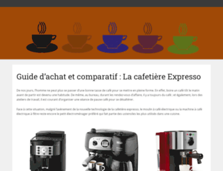 ma-cafetiere-expresso.fr screenshot