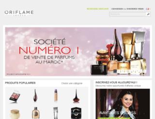 ma-eshop.oriflame.com screenshot