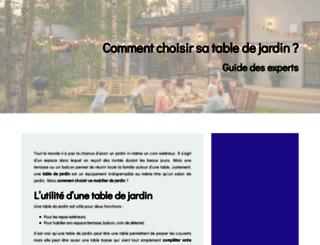 ma-table-en-jetable.fr screenshot