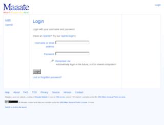 maaate.com screenshot