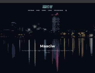 maaciw.com screenshot
