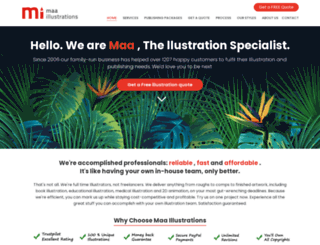 maaillustrations.com screenshot