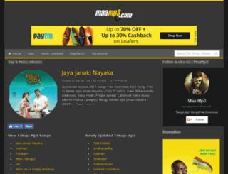maamp3.com screenshot