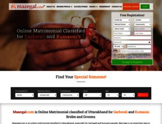 maangal.com screenshot