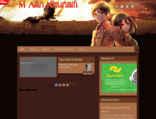 maankhunaifi.blogspot.com screenshot