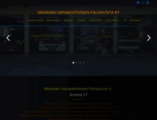 maarianvpk.fi screenshot