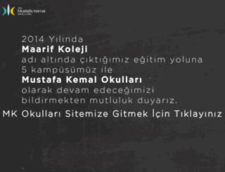 maarifkoleji.com screenshot