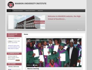 maarontraining.com screenshot