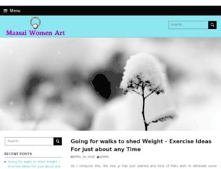 maasaiwomenart.net screenshot