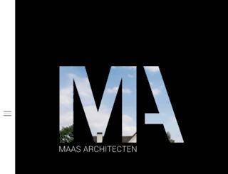 maasarchitecten.nl screenshot