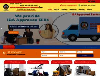 maasherawalipackersmovers.com screenshot