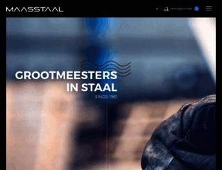 maasstaal.nl screenshot