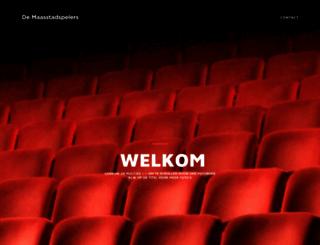 maasstadspelers.nl screenshot